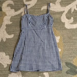 Brandy Melville Dresses - Brandy Melville Black and White Plaid Dress